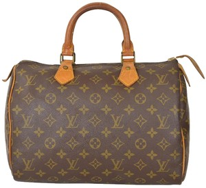 Louis Vuitton Speedy Speedy 30 Boston Satchel in Monogram