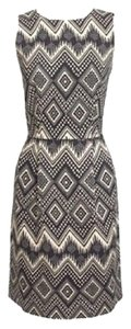 J.Crew short dress Print Aztec Embroidered Zippered on Tradesy