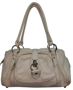 Miu Miu Creme Leather Hobo Bag