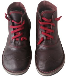 Camper Brown Leather Boots