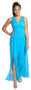 Aqua Maxi Dress by Adrianna Papell