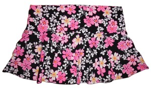 Victoria's Secret Floral Short Bikini Swim Suit Bottom Cover Skirt