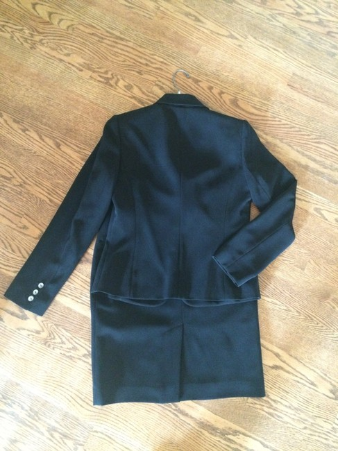 Calvin Klein Black skirt suit