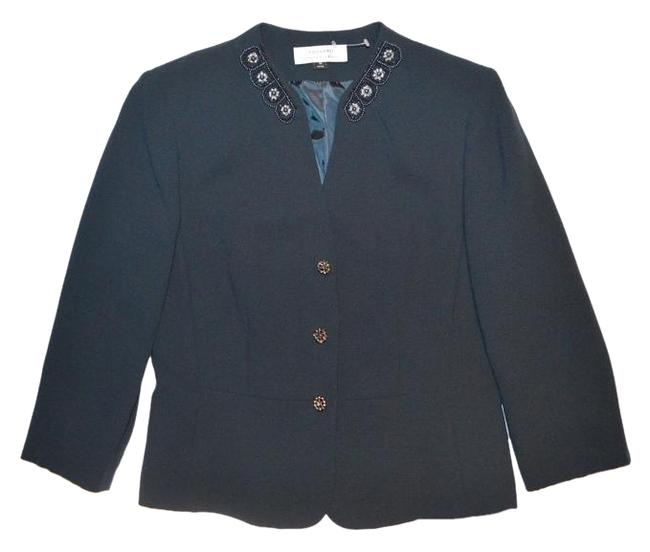 Preload https://img-static.tradesy.com/item/18546439/tahari-navy-blue-beads-and-embellished-collar-and-buttons-blazer-size-10-m-0-1-650-650.jpg
