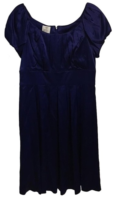 Preload https://img-static.tradesy.com/item/18546448/suzi-chin-blue-63008-electric-knee-length-cocktail-dress-size-12-l-0-1-650-650.jpg