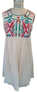 Gryphon short dress multicolor Festival Embroidered on Tradesy