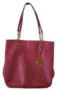 Michael Kors Mk Leather Shoulder Bag
