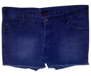 Therapy Cut Off Shorts Denim