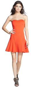 Dirty Ballerina short dress Coral on Tradesy