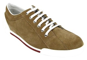 45ccceb5a Gucci Womens Leathersuede Sneaker Trainer Brown Suede/CBB00 2309 Athletic