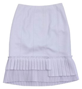 Nanette Lepore Lavender Pleated Skirt