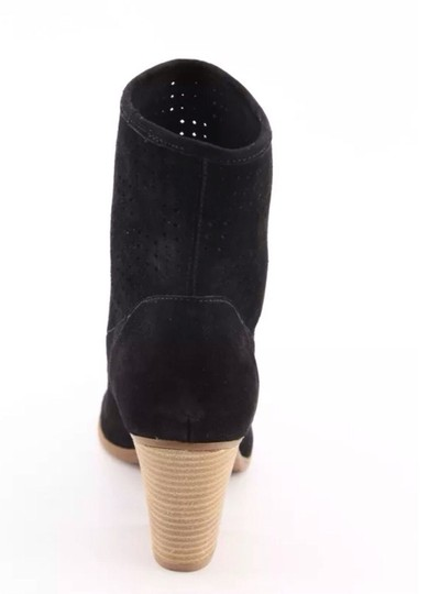 Enzo Angiolini Western Midcalf Black Boots