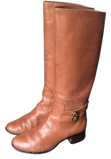 Preload https://img-static.tradesy.com/item/18548458/michael-michael-kors-cognac-bootsbooties-size-us-85-regular-m-b-0-1-540-540.jpg