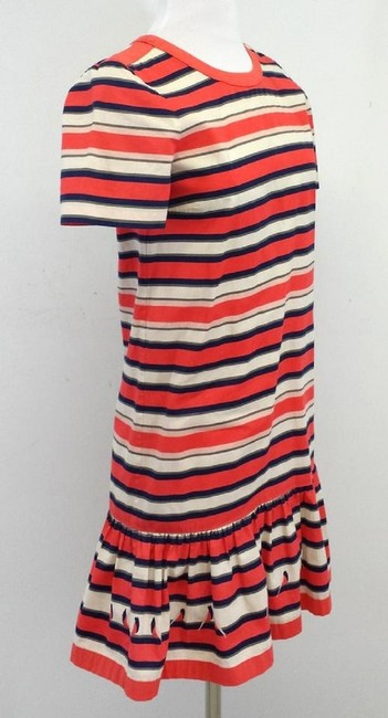 Marc by Marc Jacobs short dress Multi Color Striped Cotton on Tradesy