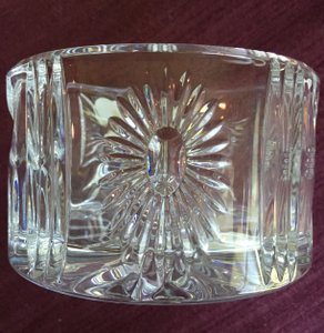 The Millennium Collection Waterford Crystal Champagne Bottle Coaster