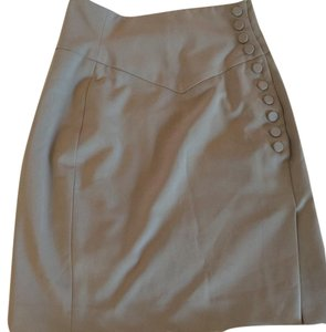 Elizabeth and James Mini Skirt Beige