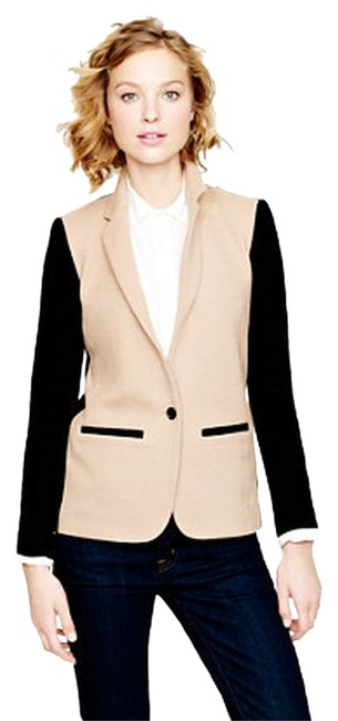 J.Crew Camel and Black Blazer