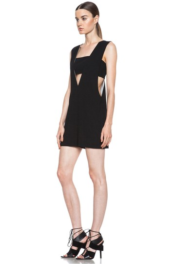 T by Alexander Wang Black Bandeau Insert Poly X-small Romper Jumpsuit - 47 c36bea757