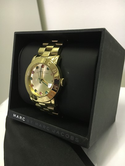 Marc by Marc Jacobs Gold Bejeweled