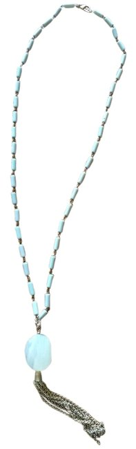 Item - Lightest Green Whisper Light Mint with Stone Necklace
