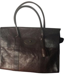 Mulberry Tote in Dark Brown