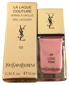 Saint Laurent Yves Saint Laurent Love Pink Nail Polish Limited Edition #69