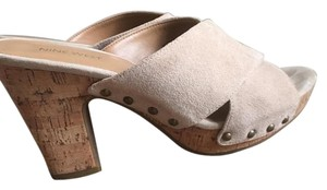 Nine West Cream Mules