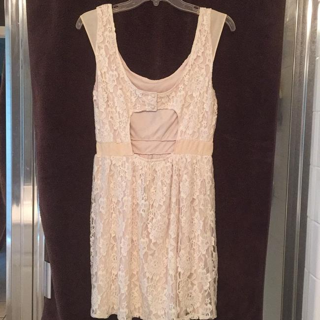 American Eagle Outfitters short dress Cream on Tradesy Image 1
