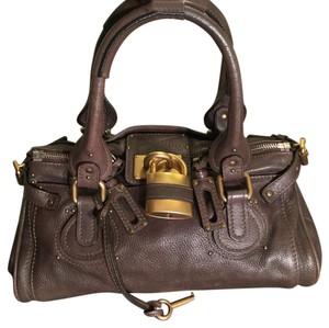 Chloé Satchel in Brown