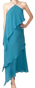 Halston Silk Long Dress