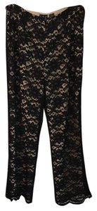 INC International Concepts Capris black lace