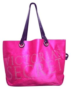Victoria's Secret Tote in Pink Silver