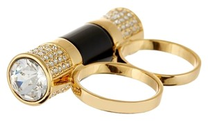 Rachel Zoe Rachel Zoe Two Finger Barrel Ring - Size 7-8