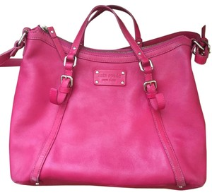 Kate Spade Satchel in Hot Pink