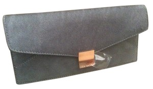 Ted Baker Wristlet in Dark gray/poni hair
