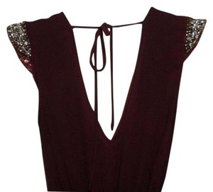 Charlotte Russe Jumpsuit Marron Goingout Dress