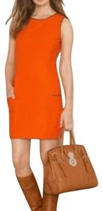 Ralph Lauren short dress Orange on Tradesy