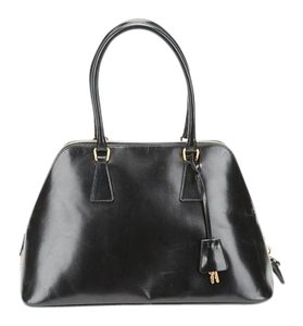Prada Top Handle Tote in Black