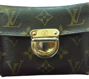 Louis Vuitton Louis Vuitton Joey Push Lock Wallet