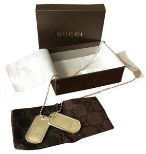 Gucci Dogtags 925