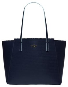 Kate Spade Tote in Navy Turquoise