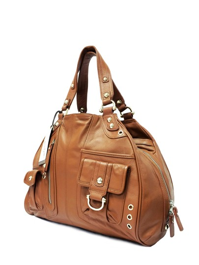 Junior Drake Hobo Kristal Interior Italian Shoulder Bag