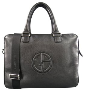 Giorgio Armani Briefcase Office Laptop Bag