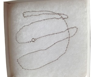 Other Sterling Silver 18 in. necklace
