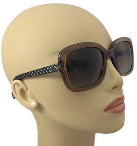 Chanel Brown Chanel Polarized Sunglasses 5328 c.1529/S9 56