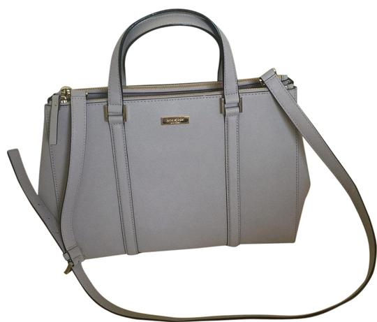 Preload https://img-static.tradesy.com/item/18553384/kate-spade-newbury-lane-loden-large-grey-saffiano-leather-tote-0-1-540-540.jpg
