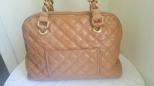 Marc Jacobs Mj Large Gold Purse Tote in Tan Image 1