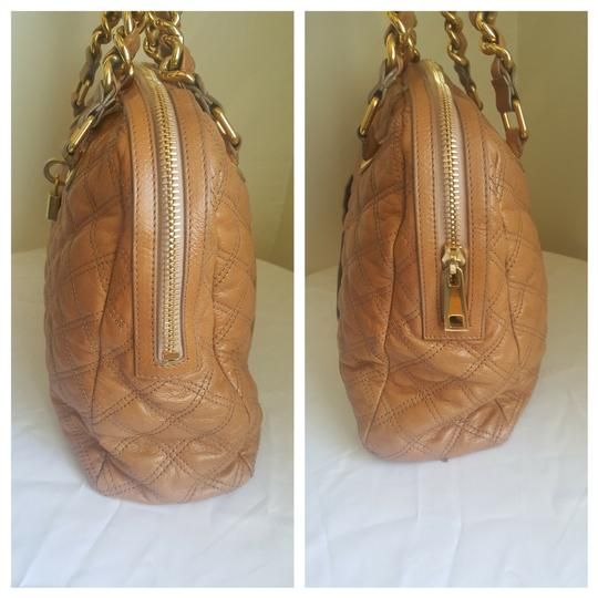 Marc Jacobs Mj Large Gold Purse Tote in Tan Image 11