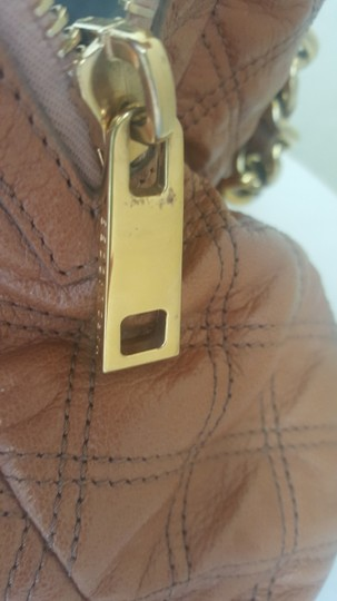 Marc Jacobs Mj Large Gold Purse Tote in Tan