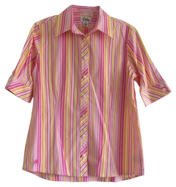 Preload https://item4.tradesy.com/images/lilly-pulitzer-button-down-top-size-8-m-1855348-0-0.jpg?width=400&height=650